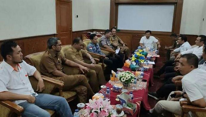 Rapat Pemantapan Persiapan Pelantikan 35 anggota Dewan terpilih, yang akan dilantik berdasarkan SK Gubernur Jambi .