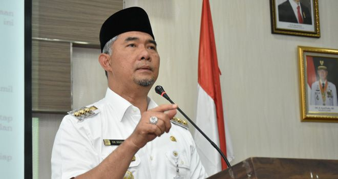 Ketua Harian DPD I Golkar Sy Fasha.