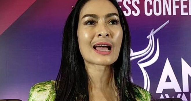 Iis Dahlia saat ditemui di kawasan Kebon Jeruk, Jakarta Barat, Senin (25/11).