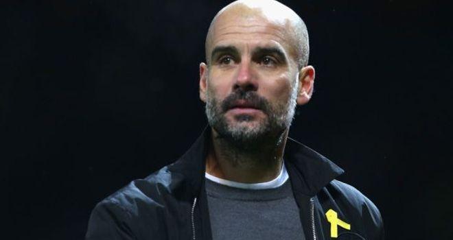 Pep Guardiola - Manajer Manchester City.