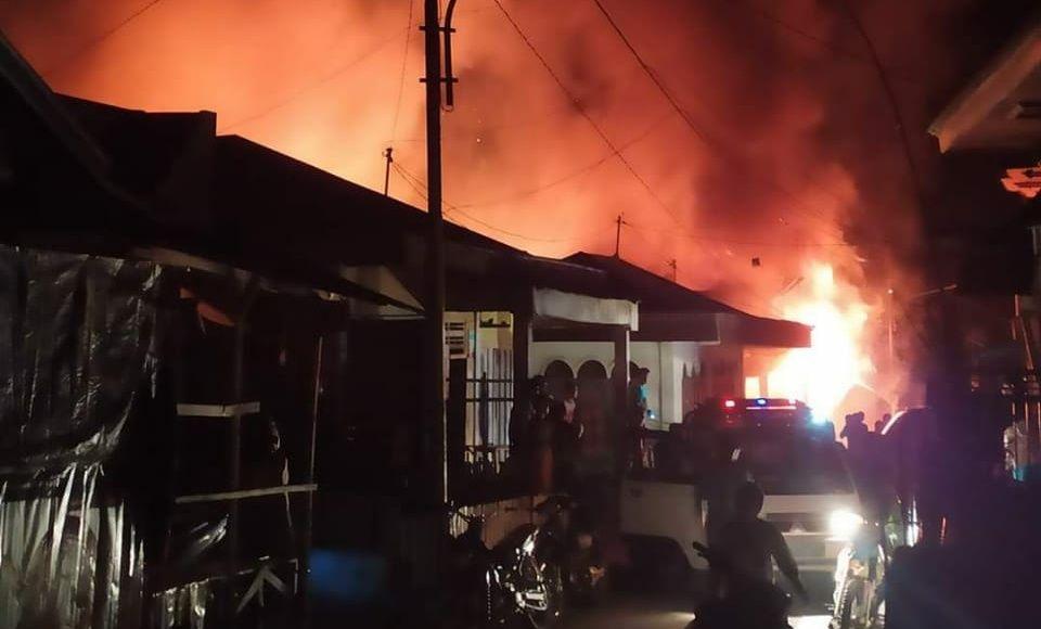 Kebakaran Hebat di Kerinci.