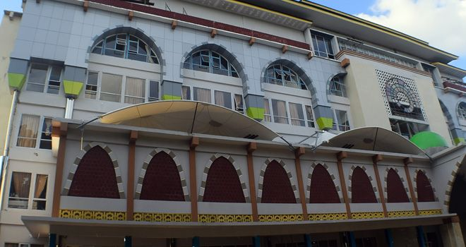 Gedung Asrama Haji.
