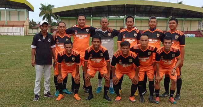 PS Muaro Jambi Legends Jajal Kemampuan Old Star Tanjab Barat.
