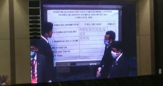 Pemilihan Wakil Gubernur DKI Jakarta.