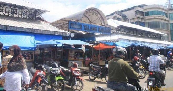 Pasar Talang Banjar.