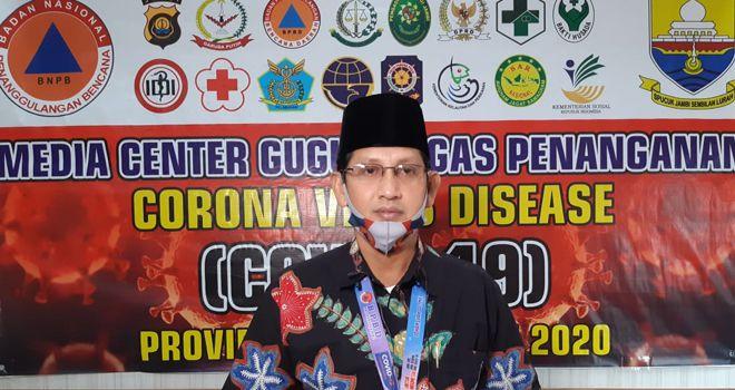 Jubir penanganan Covid19 Provinsi Jambi Johansyah.