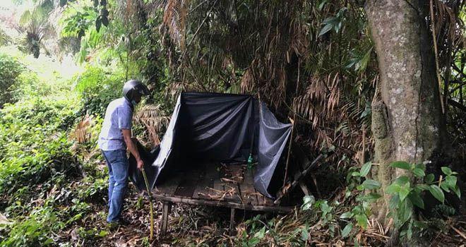 Polisi Bongkar Pondok Tempat Konsumsi Narkoba di Pulau Kayu Aro