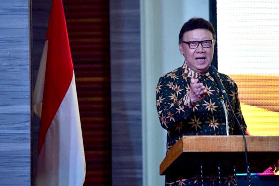 Menteri Pendayagunaan Aparatur Negara dan Reformasi Birokrasi (Menpan-RB) Tjahjo Kumolo,