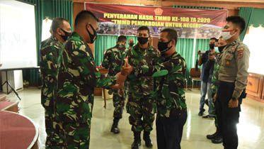 TMMD Desa Labuhan Pering Telah Usai, Namun Kemanunggalan TNI-Rakyat Semakin Menguat