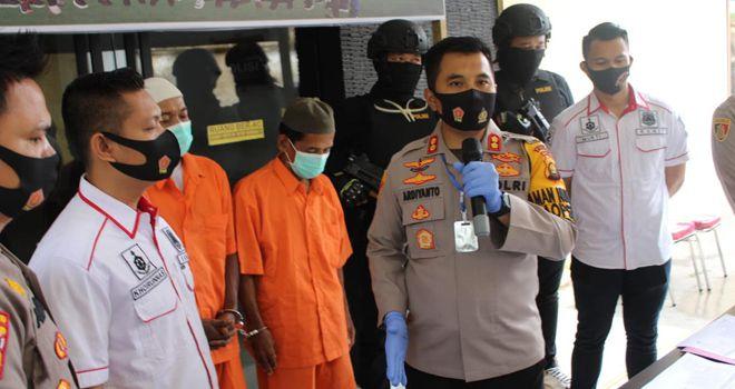 2 Pelaku Pembakar Lahan Diamankan Polres Muaro Jambi