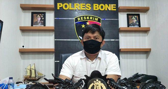 Kasat Reskrim Polres Bone, AKP Ardy Yusuf. (AGUNG PRAMONO/FAJAR)