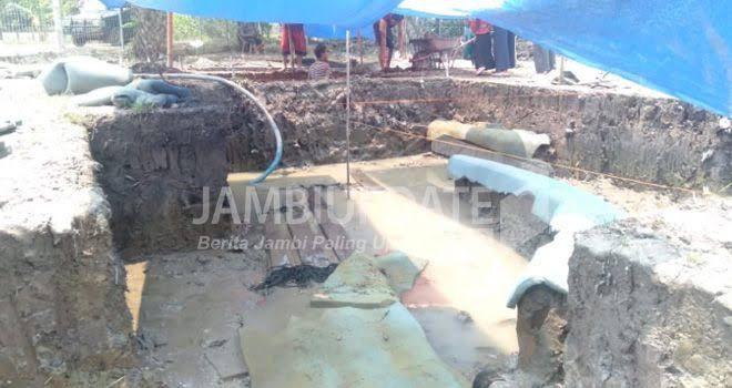 Penelitian Situs Perahu Kuno Lambur Dilanjutkan.