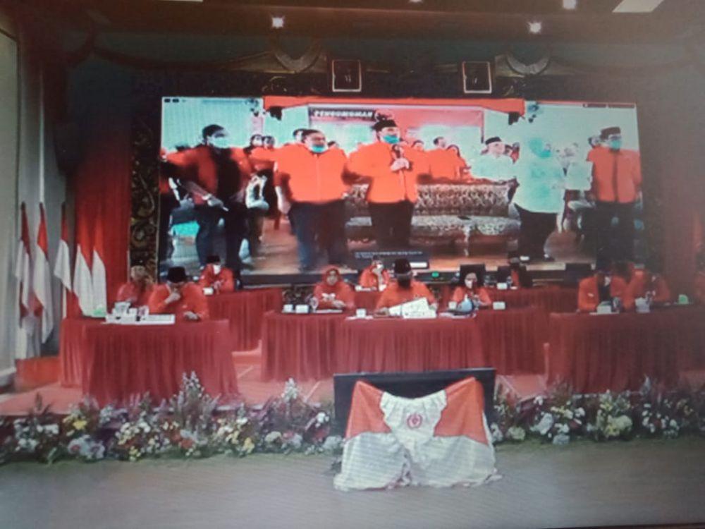 PDIP Resmi Usung Yuninta-Mahdan di Pilkada Batanghari.