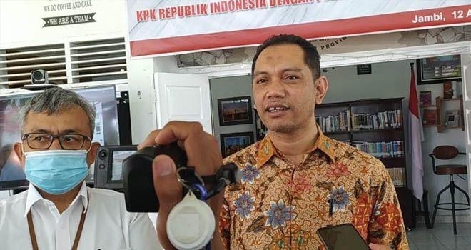 Wakil Ketua KPK RI, Nurul Ghufron Saat Acara di BPKP Jambi