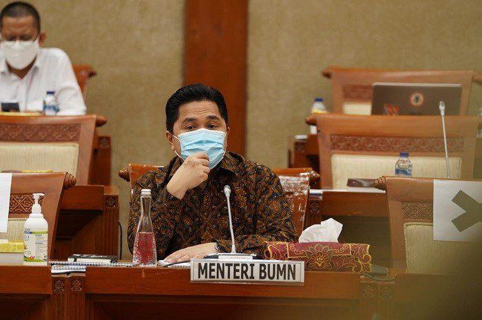 Ketua Pelaksana Komite Penanganan COVID-19 dan Pemulihan Ekonomi Nasional (PEN) Erick Thohir
