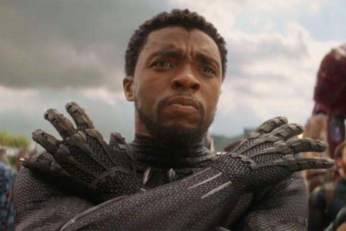 Chadwick Boseman saat memerankan karakter Black Panther.
