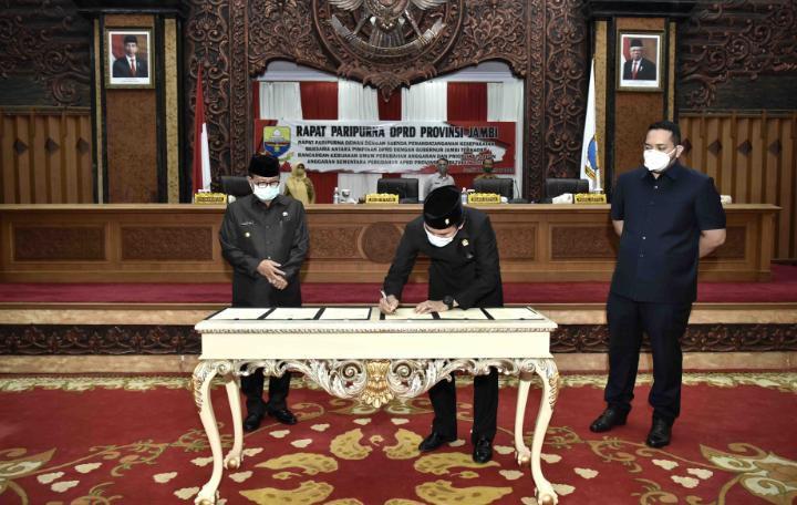 DPRD sepakati KUPA PPAS-P 2020 Provinsi Jambi