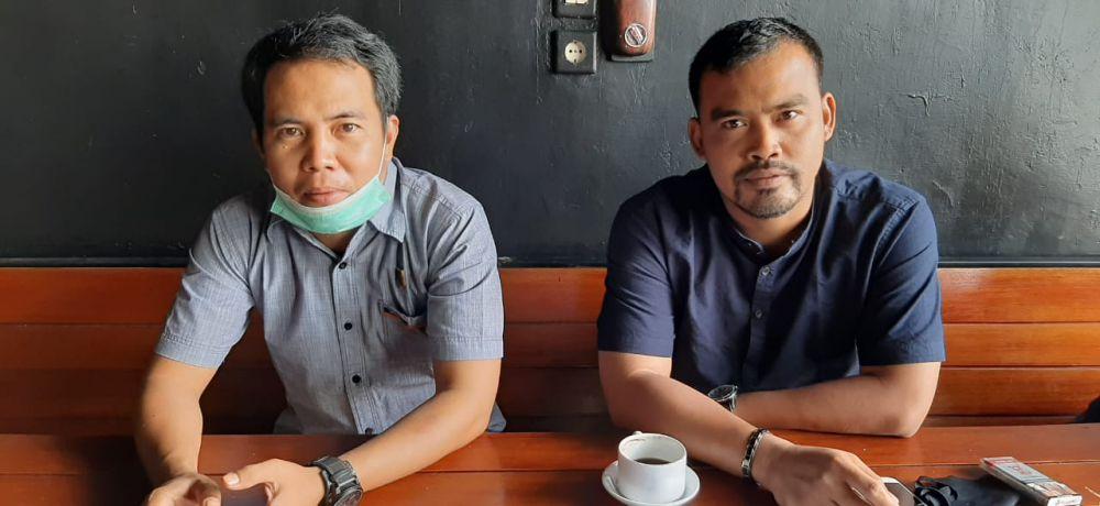 Ketua BPD dan tokoh pemuda desa Lidung.