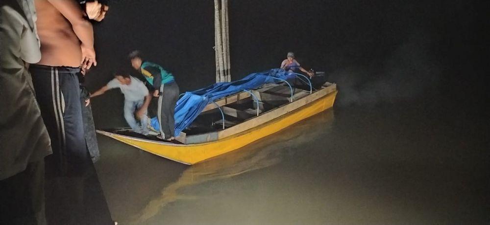 Seorang Wanita 26 Tahun Tenggelam di Sungai Kampung Laut.