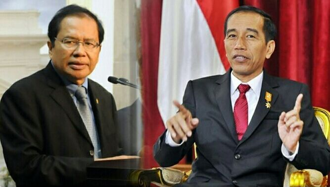 Rizal Ramli dan Jokowi