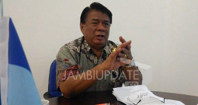 Burhanudin Mahir, Ketua DPD Partai Demokrat Jambi.