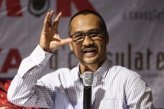 Eks Ketua KPK Abraham Samad.