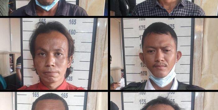 Preman Tanjung Priok yang ditangkap polisi (ist)