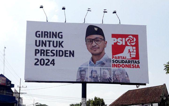 Spanduk Giring untuk Calon Presiden 2024. (dok Istimewa)