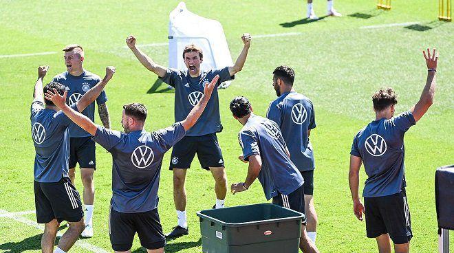 Latihan timnas Jerman/dfb.de