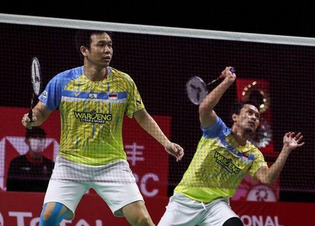Hendra Setiawan dan Mohammad Ahsan/Badmintonphoto/BWF