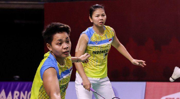 Greysia Polii/Apriyani Rahayu. (Badminton Indonesia)