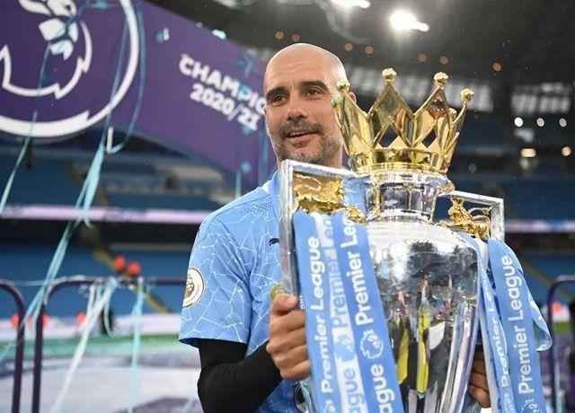 Manajer Manchester City, Pep Guardiola. (Premier League)