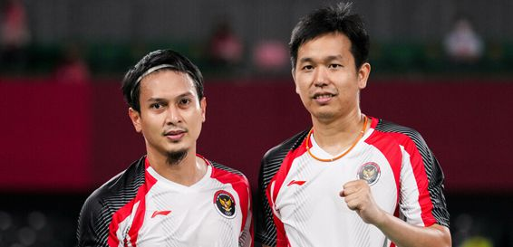 Mohammad Ahsan/Hendra Setiawan melaju ke babak semifinal Olimpiade 2020 /badmintonindonesia.org